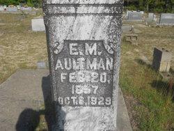 Emanuel M Aultman
