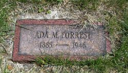 Ada May <i>Shepley</i> Forrest