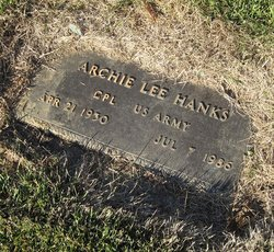 Corp Archie Lee Hanks