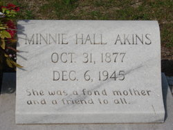Minnie <i>Hall</i> Akins