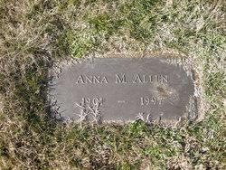 Anna M Allen