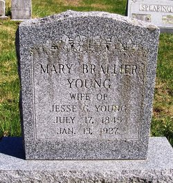 Mary <i>Brallier</i> Young