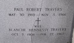 Blanche Hennessy Travers