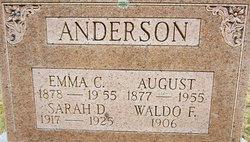 Emma C. <i>Edstrom</i> Anderson