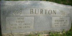 Emma <i>Inman</i> Burton