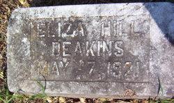 Eliza <i>Hill</i> Deakins