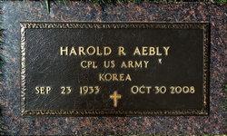 Harold R Aebly