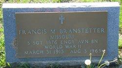 Francis Monroe Branstetter