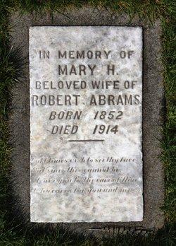 Mary Harriett <i>Brown</i> Abrams