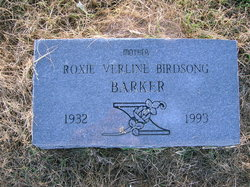 Roxie Verline <i>Birdsong</i> Barker