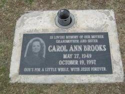 Carol Ann Brooks
