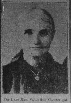 Eliza Betty <i>Cartwright</i> Harrison