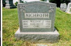 William John Johann Wilhelm Aichroth