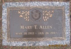 Mary T Allen