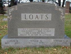 Lloyd B Loats