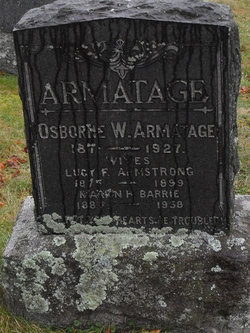 Lucy Frances <i>Armstrong</i> Armatage