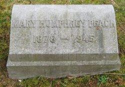 Mary S <i>Gimlich</i> Humphrey