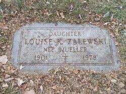 Louise <i>Mueller</i> Zalewski
