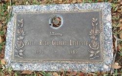 Patsy Ruth <i>Gilbert</i> Leifeste