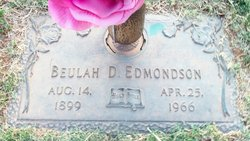 Beulah Dorthea <i>Berger</i> Edmondson