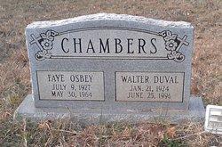 Faye <i>Osbey</i> Chambers