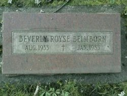 Beverly <i>Royse</i> Beimborn