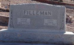 Annie Elizabeth <i>Chisholm</i> Filleman