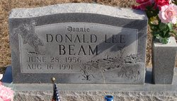 Donald Lee Donnie Beam