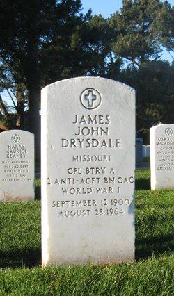 James John Drysdale