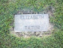 Elizabeth Tatum