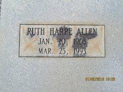 Ruth <i>Harpe</i> Allen