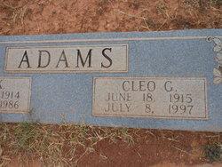 Cleo G. Adams