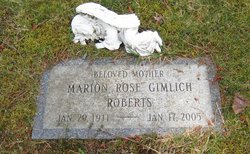 Marion Rose <i>Gimlich</i> Roberts