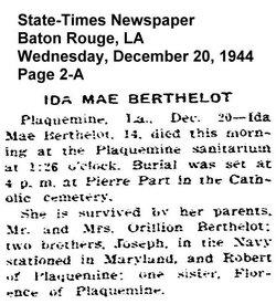Ida Mae Berthelot
