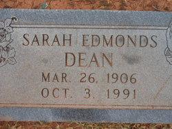 Sarah Barkley <i>Edmonds</i> Dean