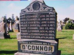 Eleanor Frances Nellie <i>O'Connor</i> Christal