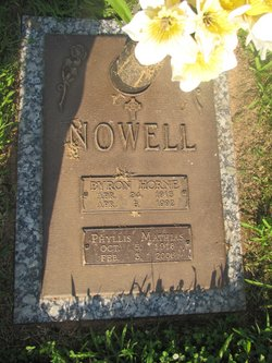 Phyllis <i>Mathias</i> Nowell