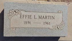 Effie Lucille <i>Filleman</i> Martin