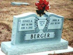 Eunice Adeline <i>Rickman</i> Berger