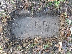 Alice N. Cain