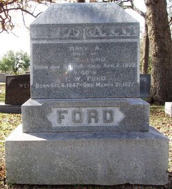 Mary Aurelia <i>Cheatham</i> Ford