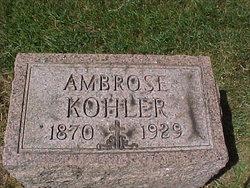 Ambrose Kohler