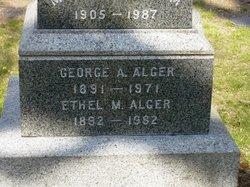 Ethel M Alger