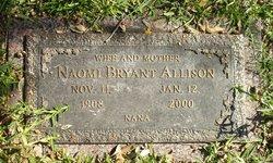 Naomi <i>Bryant</i> Allison
