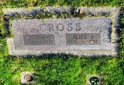 Alice Josephine <i>Knott</i> Cross