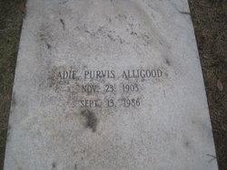 Adie <i>Purvis</i> Alligood