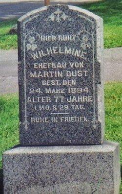 Wilhelmine <i>Seeman</i> Dust