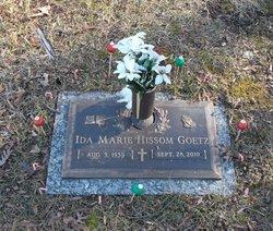 Ida Marie <i>Hissom</i> Goetz