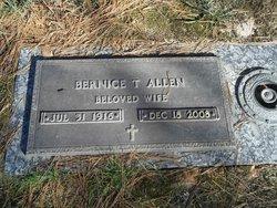 Bernice <i>Tucker</i> Allen