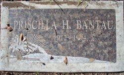Priscilla H Bantau